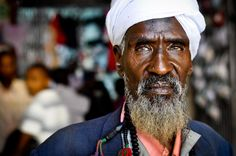 A character filled face in Eastleigh, Nairobi- Kenya