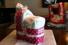 Diaper Bassinet...and its a girl!