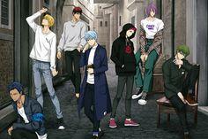Fanarts Anime, Anime Characters, Kurokos Basketball, Kuroko No Basket Characters, Susanoo Naruto, Kiseki No Sedai, Akakuro, Kagami Taiga, Generation Of Miracles