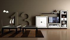 Salón Uno de 15 - Trece 13 - Living Room One of 15 - Trece 13