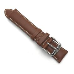 Luxurious leather watch band by Alfred Hammel in soft saddle color anti-allergic leather. Fits lugs, it is padded and finished by a contrasting stitch. Vintage Watches For Men, Leather Watch Bands, Vintage Handbags, Vintage Jewelry, Fine Jewelry, Luxury, Price Point, Silver, Accessories
