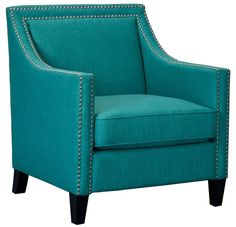 Elsinore Accent Chair TEAL – Apt2B