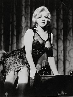 "Marilyn Monroe as Sugar Kane in ""Some Like It Hot"", 1959. Costumes designed by Orry Kelly."
