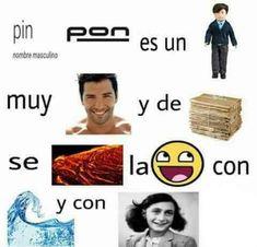 Pin pon es un traje muy persona y de madera, se fuego la emoji con olas y con Ana Frank :v