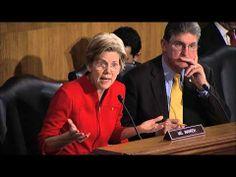 This article discusses a new senators take on prosecuting big banks.