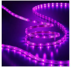 Purple Rope Lights Stunning 18' Led Purple Rope Lights  Rope Lighting Lights And 21St Decorating Design