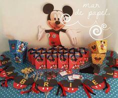 MAR DE PAPEL: Los 2 años de Gabriel: Mickey Mouse