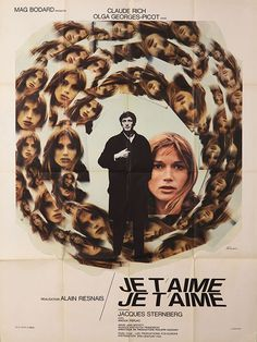 "Movie Poster of the Week: Alain Resnais' ""Je t'aime, je t'aime"""