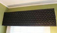 Upcycled & Recycled Tires - window valance