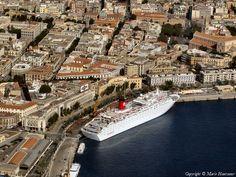 Photo aérienne de Messine - Italie (Italia)
