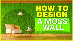 In This Video you will learn how to use your moss wall art to build a moss wall using preserved moss. The Moss used in Ball Moss , Flat Moss and Lichen. The Moss wall requires no maintenance whatsoever. Sustainable sources provide the moss and reindeer moss is a popular product from Scandinavian moss sources. So you can create your own moss wall and install in your office or home. Interior Designers like to specify moss walls as they create a eco-friendly style to their interior home décor.