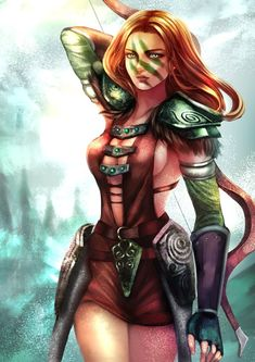 [Cosplay Idea] Aela the Huntress from The Elder Scrolls V: Skyrim. The Elder Scrolls, Elder Scrolls Skyrim, Video Game Characters, Fantasy Characters, Female Characters, Video Games Girls, Pathfinder Rpg, Warrior Girl, Warrior Women