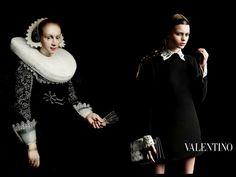 Inspiration Dutch painting 1700 / Valentino Campiagn / Inez and Vinoodth