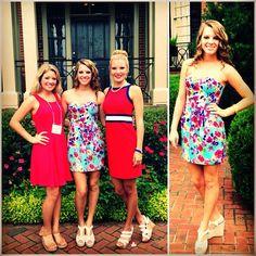 Cute PNM dresses on Skit Day