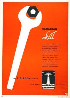 1949 E.B. Eddy Co. Vintage Ad #001593