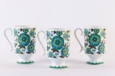 Set of three Royal Crown Arnart Smug Mugs by polygolightly on Etsy https://www.etsy.com/listing/237758247/set-of-three-royal-crown-arnart-smug