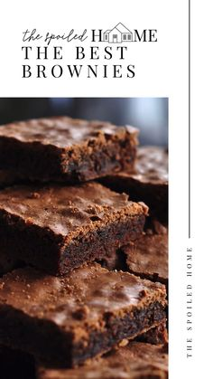 Brownies With Cocoa Powder, Cocoa Brownies, Nutella Brownies, Healthy Brownies, Blondie Brownies, Best Brownies, Fudgy Brownies, Chocolate Brownie Recipe Easy, Brownies Recipe No Butter