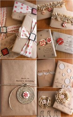 Cute & Creative Gift Wrapping Ideas You Will Adore! Cute & Creative Gift Wrapping Ideas You Will Adore The post Cute & Creative Gift Wrapping Ideas You Will Adore! appeared first on Fashion Ideas - Fashion Trends. Present Wrapping, Creative Gift Wrapping, Wrapping Ideas, Creative Gifts, Gift Wraping, Brown Paper Packages, Christmas Gift Wrapping, Christmas Packages, Christmas Presents