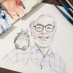 """""""Always believe in yourself. Do this and no matter where you are you will have nothing to fear."""" - Hayao Miyazaki  @kairou_lee. This has got to be my favourite portrait  Thank you for all the wonderful and inspiring stories. by kai_rou"""