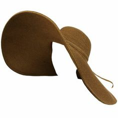 "I love this too!  Summer Shapeable Wire Floppy Big Super Wide Brim 8"" Brim Beach Sun Hat Brown 