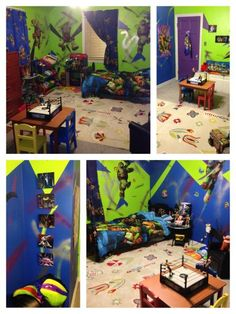 Great Teenage Mutant Ninja Turtle Bedroom | Do It Yourself Home Projects From Ana  White Boys Ninja