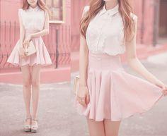Cute high rise skirt... Want!!!!