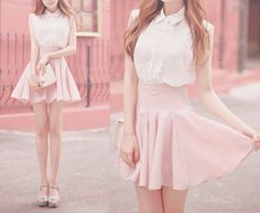 Cute high rise skirt... Want!!!!