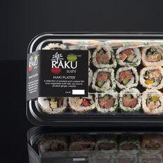 Sushi Cafe, Sushi Lunch, Food Box Packaging, Food Packaging Design, Sushi Restaurants, Restaurant Recipes, Foodtrucks Ideas, Sushi Platter, Food Branding