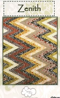 Zenith - Quilt Pattern by A Quilter's Dream