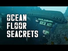 Ocean Floor Seacrets - Let's Explore the Ocean Floor of Fallout 4 Fallout 4 Secrets, Fallout 4 Tips, Fallout Facts, Fallout Game, Poll Games, Video Games, Fallout 4 Locations, Fallout 4 Weapons, Vault Tec