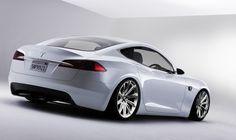Tesla Model S Coupe.