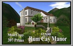 Second Life Rum Cay Manor
