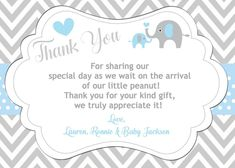 77 Best Baby Shower Thank You Cards Images On Pinterest Baby
