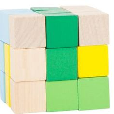 Wooden Cube Puzzle - Toys and Games Ireland Wooden Cubes, Glaze Paint, Cube Puzzle, Travel Toys, Fidget Toys, Puzzle Toys, Wooden Puzzles, Fun Games, Cool Toys