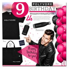 """""""Happy Birthday Polyvore!"""" by justlovedesign ❤ liked on Polyvore featuring bkr, women's clothing, women, female, woman, misses, juniors, contestentry and happybirthdaypolyvore"""