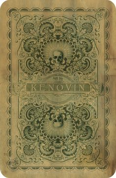 Kenovin's card