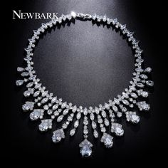Like and Share if you want this  NEWBARK Luxury Wedding Necklaces For Brides AAA CZ Chandelier Pendants Bridal Accessories Statement Necklace Women Party Jewelry     Tag a friend who would love this!     FREE Shipping Worldwide     Get it here ---> http://jewelry-steals.com/products/newbark-luxury-wedding-necklaces-for-brides-aaa-cz-chandelier-pendants-bridal-accessories-statement-necklace-women-party-jewelry/    #highheels