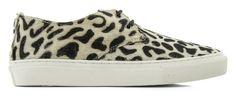 MARUTI Brazz sneaker in spotted hyena white black print