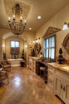 Beautiful French Bathroom