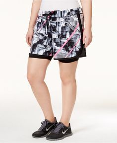 Pin for Later: 16 Stylish Workout Shorts For Curvy Girls  Ideology Layered Shorts ($40)