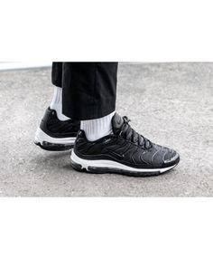 new styles e58b1 986c0 Nike Black Friday Air Max Plus 97 Black Trainers