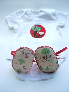 Little Red Riding Hood Baby Gift Set ECO Baby by funkyshapes, $40.95