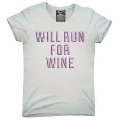 Will Run For Wine Shirt, Hoodies, Tanktops