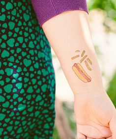 Perfect party favor! Temporary Tattoos: Boardwalk Set