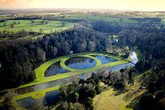 Studley Royal Water Garden, Yorkshire, UK