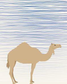 Animals of Yoga: Camel.