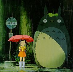 The fist movie i saw that made by Miyazaki was called My Neighbor Totoro