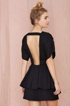 Nasty Gal Short Work Sequin Dress