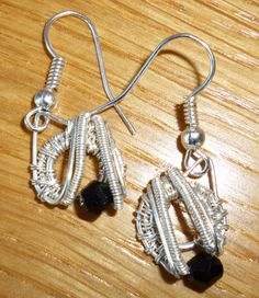 Silver and Swarovski Earrings - pinned by pin4etsy.com