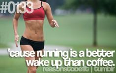 I wouldn't have believed this until I started running before my cup of coffee… But it's true for me
